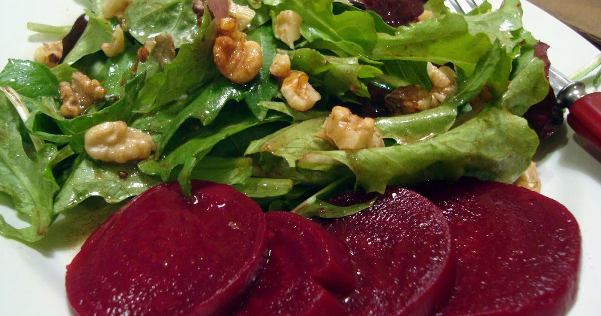 Headspace Pickled Beets And A Simple Salad