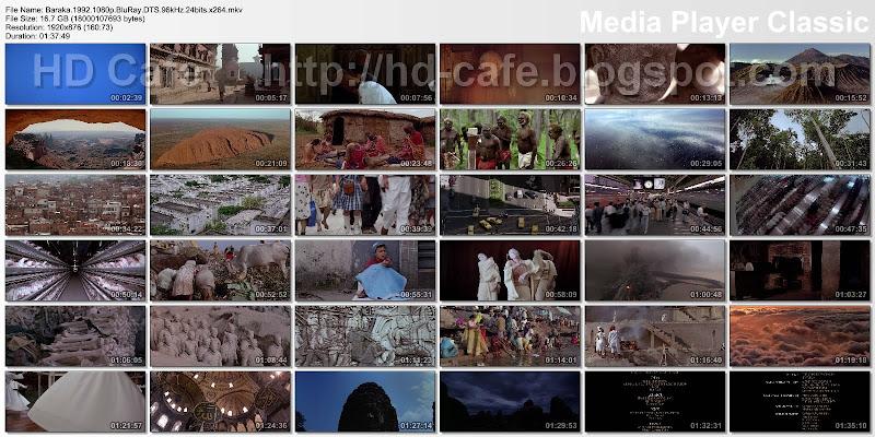 Baraka 1992 video thumbnails