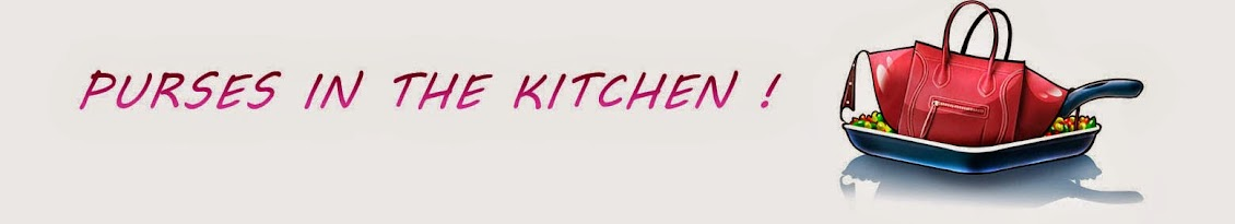 Purses in the Kitchen by  Carola Disiot - Fashion blog - Lifestyle - Food