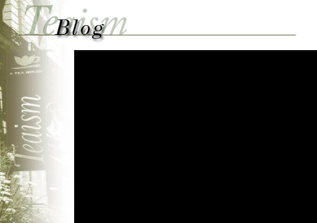 Teaism Blog