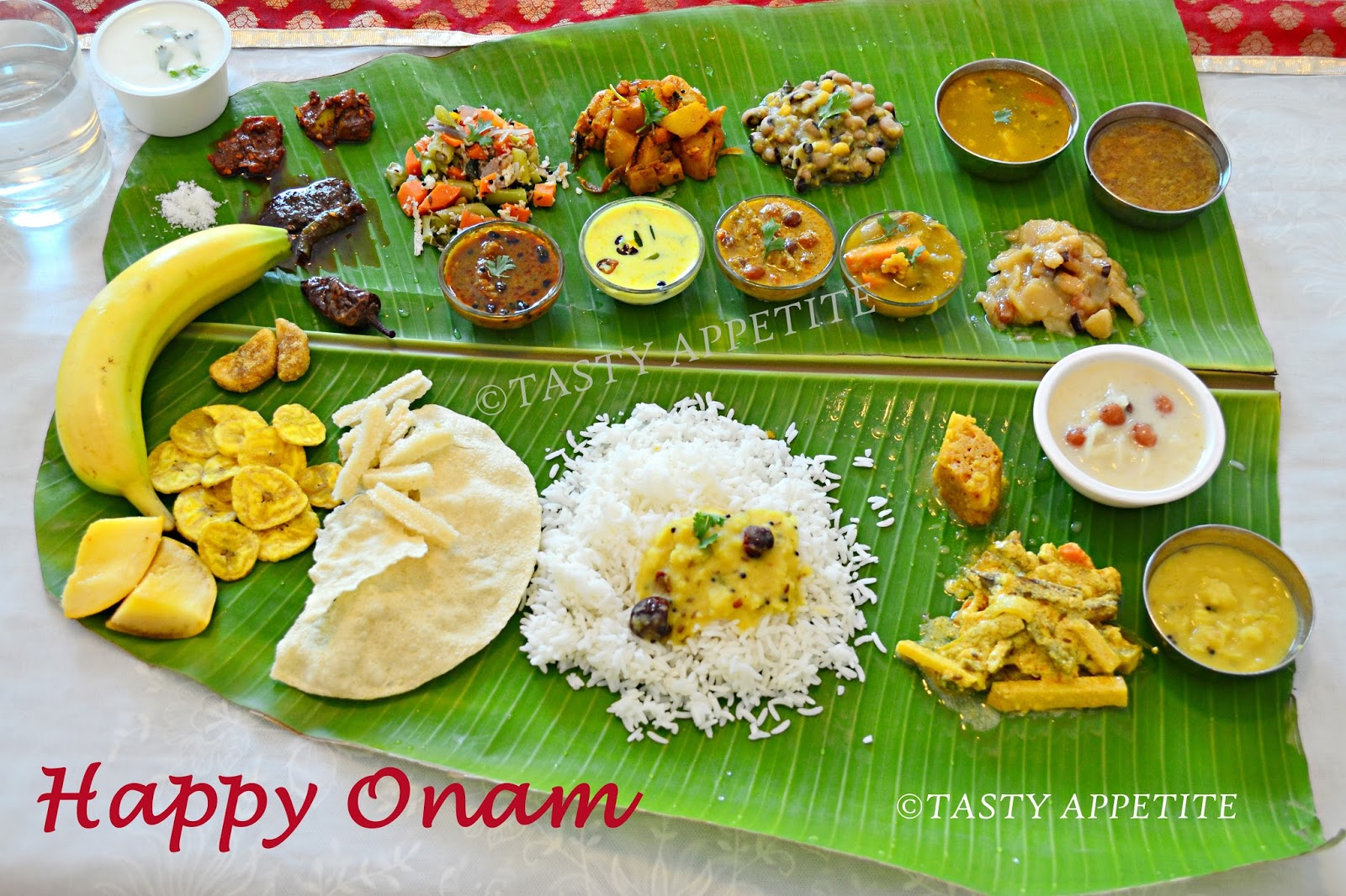 Happy Onam Onam Sadya Recipes Happy Onam Celebrations