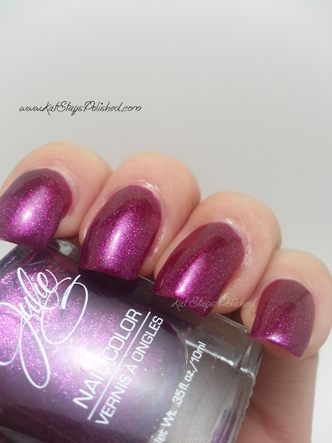 JulieG Nail Color - Butterflies & Rosebuds