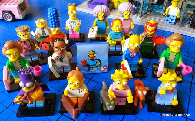 The Simpson's LEGO Minifigures Series 2
