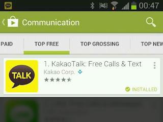 KakaoTalk Application Google Play