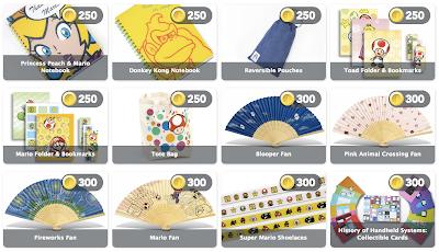 club nintendo prizes