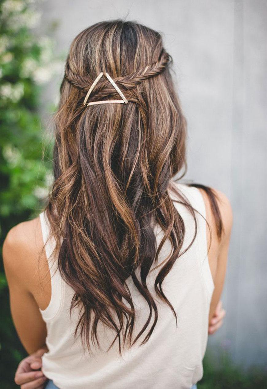 Прически для длинных волос с трессами