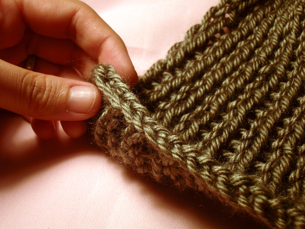 Knitting A Scarf Tutorial : Gatuxedo a about stitching infinity scarf with