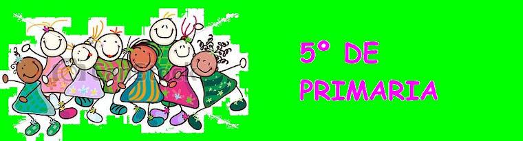 5º A y B DE PRIMARIA (2018-2019)