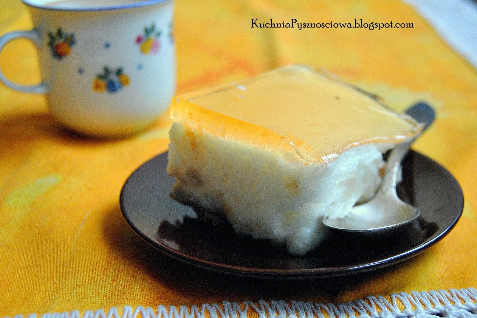 177. Owocowa pianka jak ptasie mleczko, czyli ciasto z nadmiaru białek