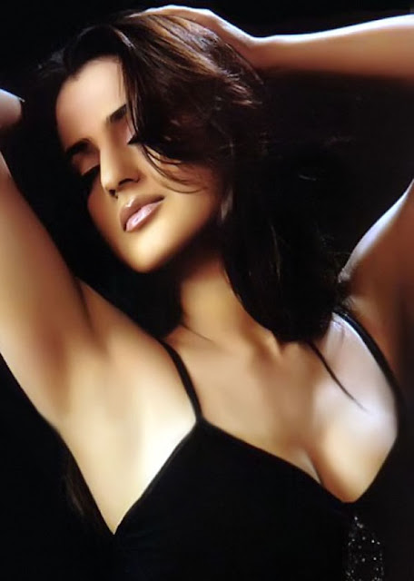 Bollywood actress Ameesha Patel Showing Her Beautiful Cleavage6
