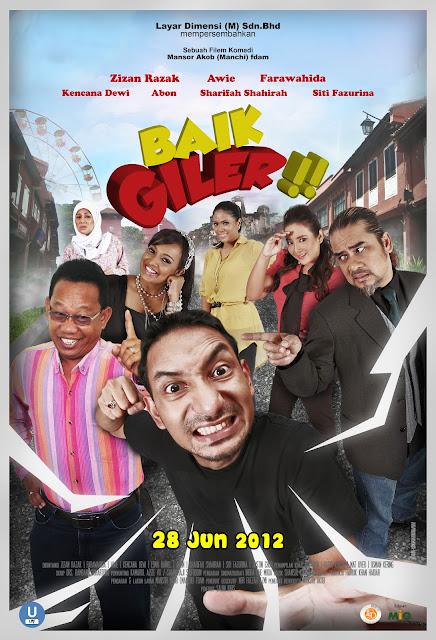 Poster filem Baik Giler