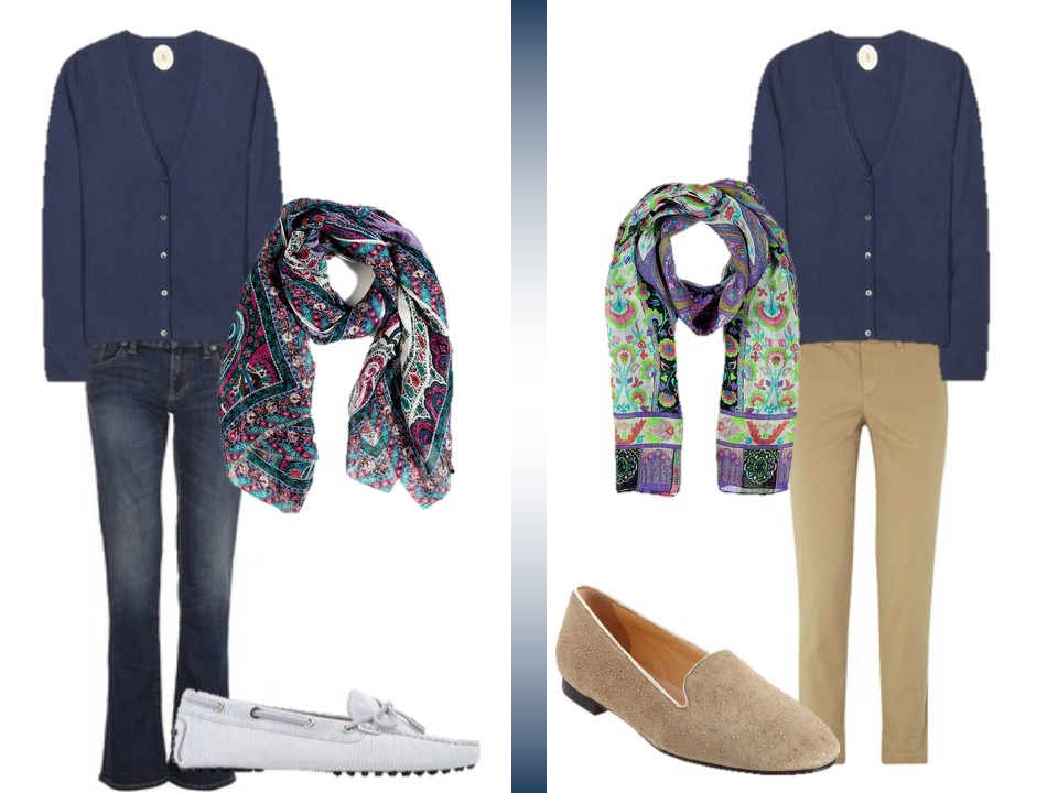 how to wear a cardigan sweater with jeans