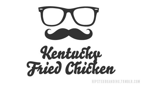 Logótipos Vintage - Kentucky Fried Chicken - hipsterbranding