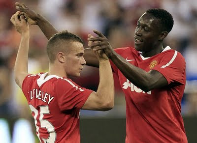 Tom Cleverley Danny Welbeck Man Utd Players