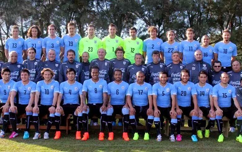Selección Uruguay 2014 Brasil Mundial