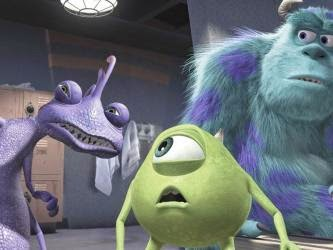 Randall, Mike y Sulley