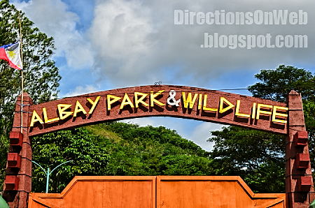 albay park & wildlife gate and entrance fee