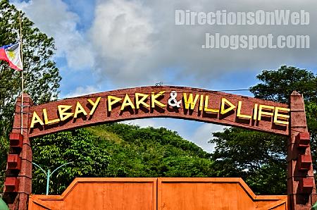 albay park & wildlife gate and entrance fee