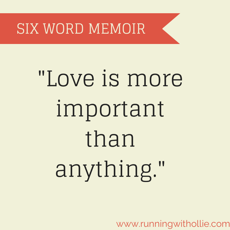 Six Word Memoir (or Epitaph) #Blogember