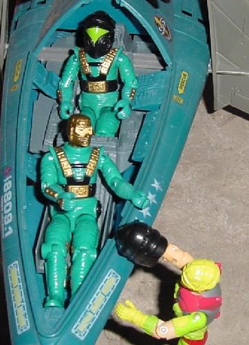 1993 Star Brigade Astro Viper, 1993 Mega Marines Cyber Viper, 1990 Vector