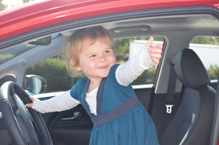 2013 Kia Rio sx Alice's Thumbs up!!