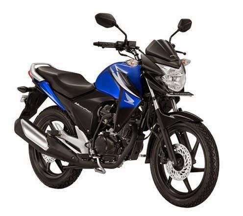 New Honda Mega Pro Blue