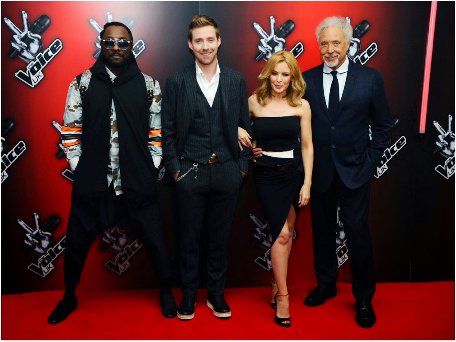 Will.i.am in Givenchy - 'The Voice UK' Red Carpet Launch in London