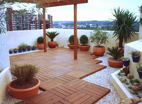 jardim deck de madeira:Decks de madeira modulados para espaços especiais – Jardim de Siguta