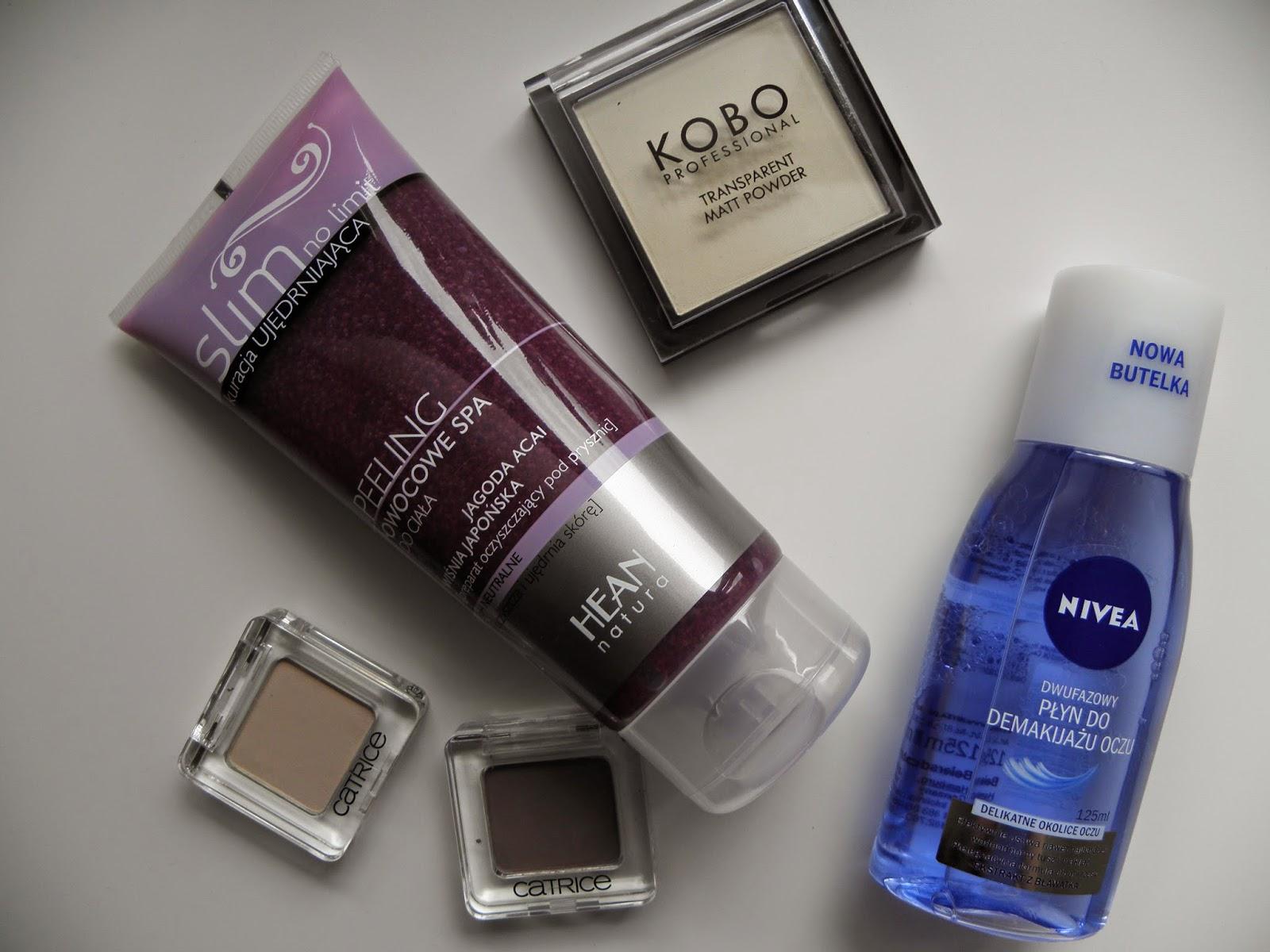 Małe kosmetyczne co nieco | Catrice, Kobo, Hean i Nivea