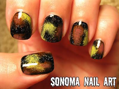 sonoma nail art 31 day nail art challenge galaxy nails