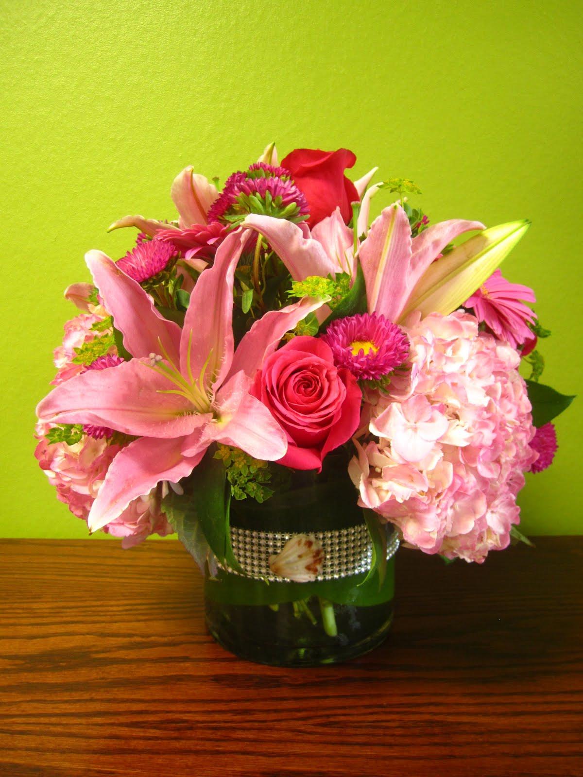 Sweet 16 centerpieces hot girls wallpaper for Flower arrangements for sweet 16