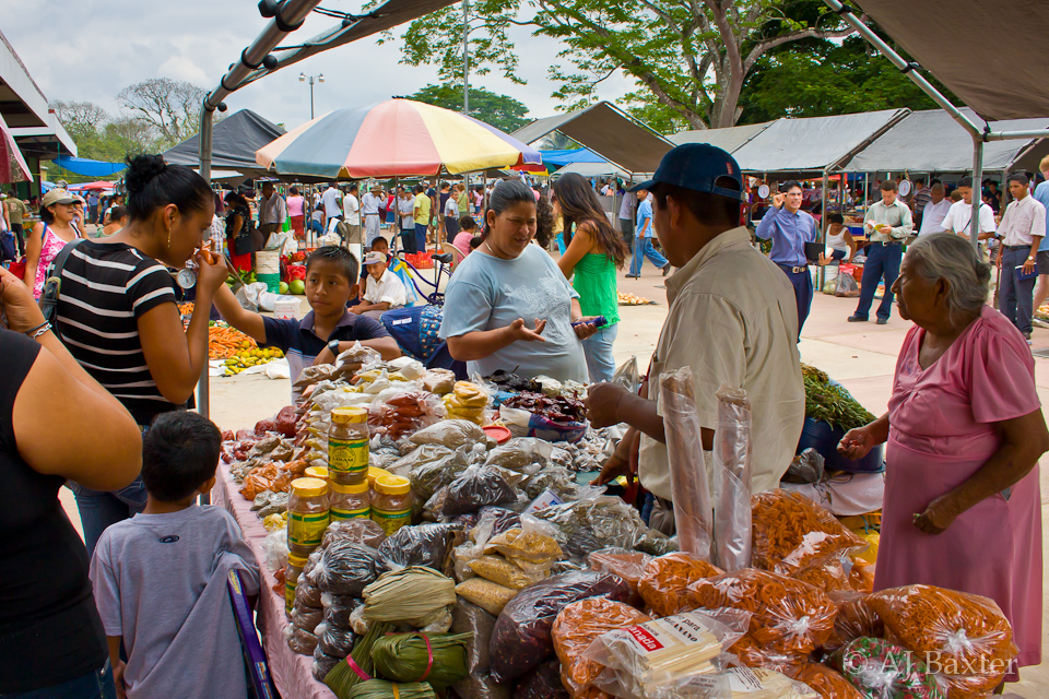 Image: Market Day in San Ignacio, Cayo District, Belize by AJ Baxter