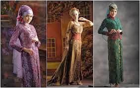 Foto Kebaya Pengantin Muslimah 2014