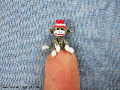 Etsy crochet miniature animals