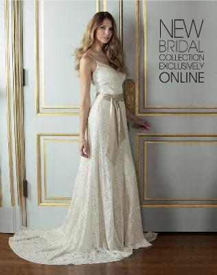 Wedding dress design vintage modern wedding dress