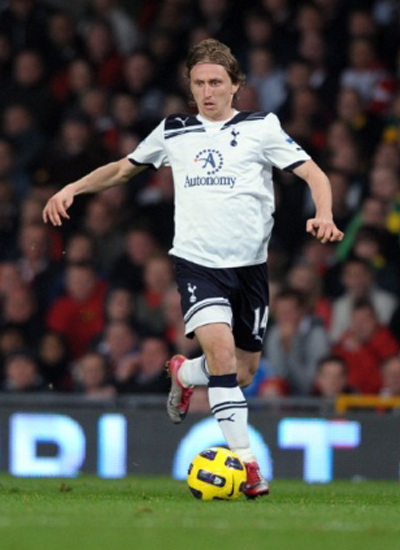 Luka Modric Tottenham Hotspur Midfielder Transfer