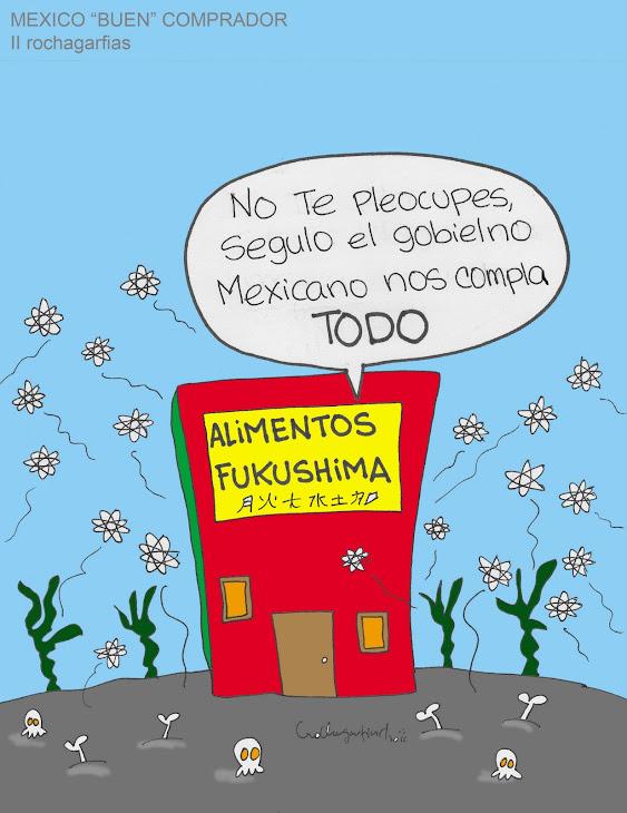 FUKUSHIMA Y EL MEXICO CORRUPTO.