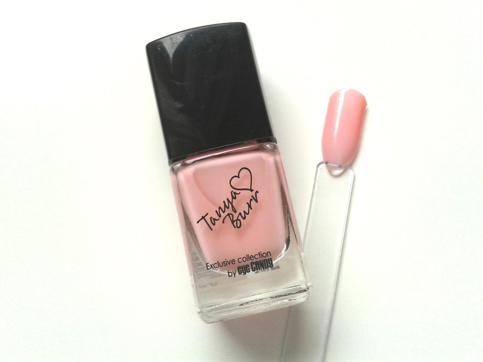 Tanya Burr Lips and Nails Nail Polishes Review Swatch Swatches Mini Marshmallows