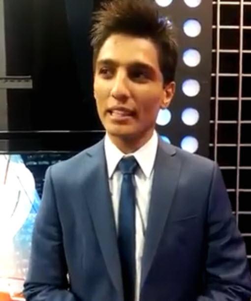 """بالفيديو: ماذا قال الفنان محمد عساف بعد أداء أغنية """"عنابي"""" في ربنامج عرب آيدول 24-5-2013"""