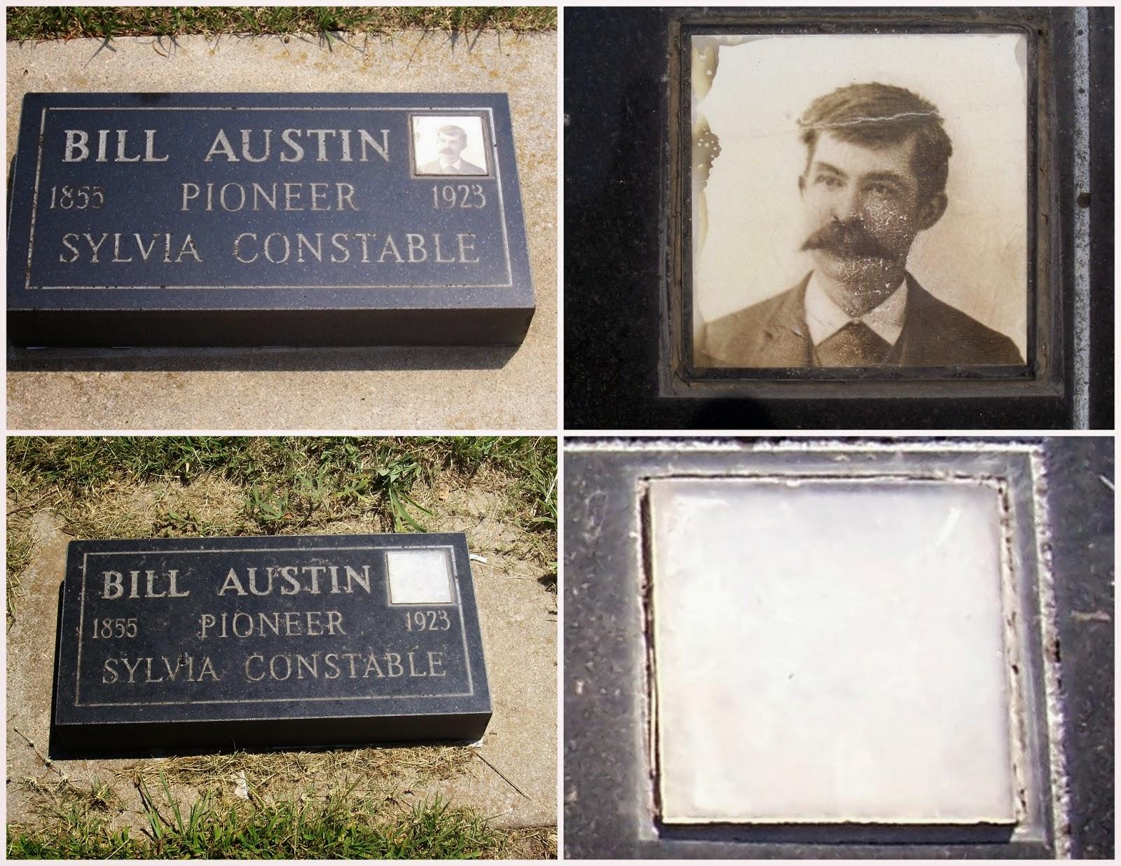 Bill Austin, Sylvia Cemetery
