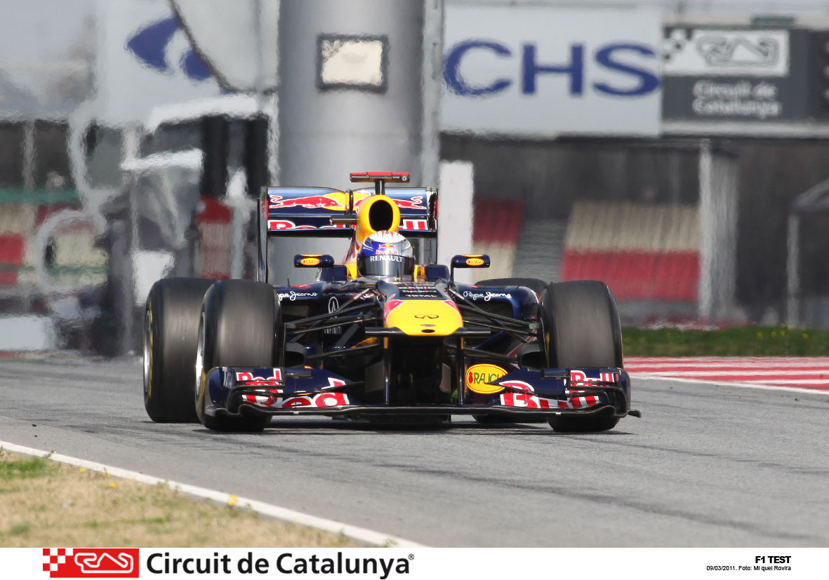 Pretemporada Montmelo f1 2011 vettel Old male began to complain of chronic pain in the ...