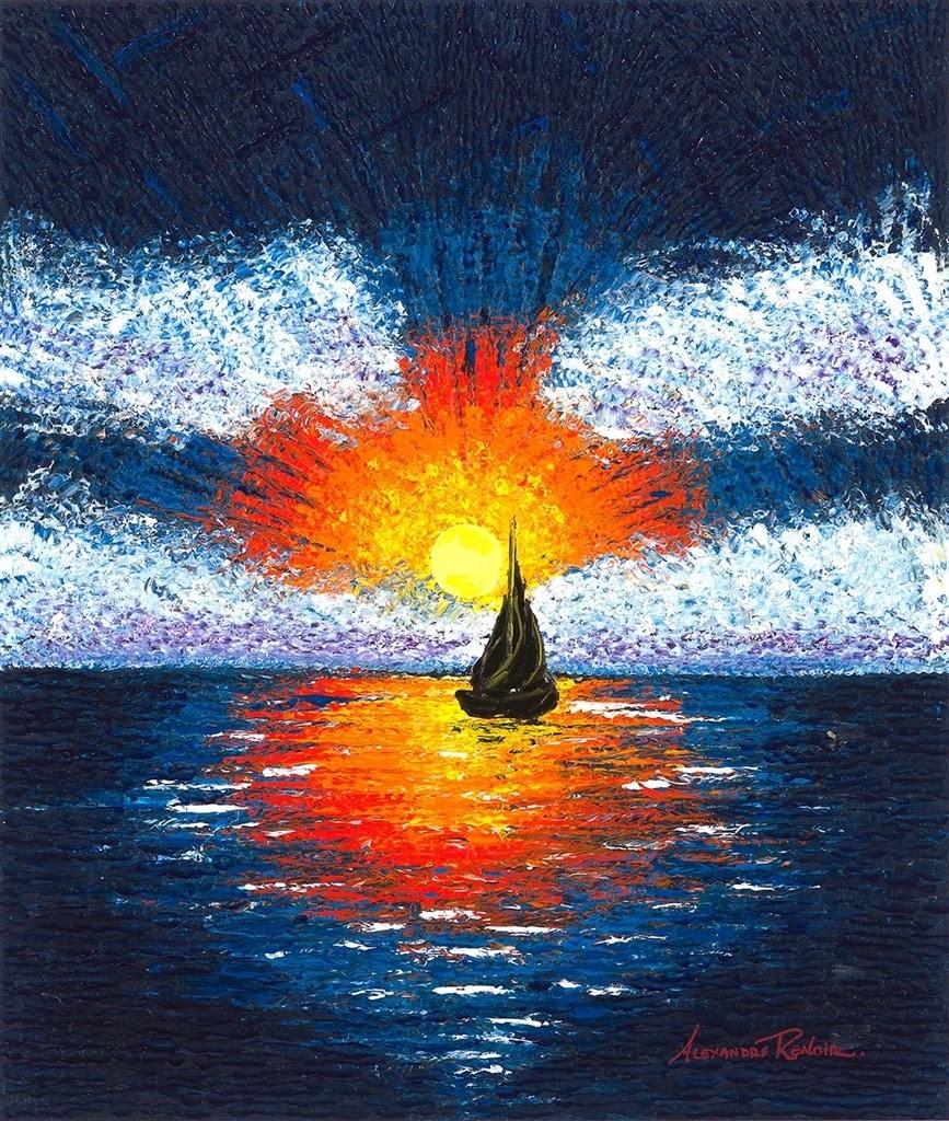 Alexandre Renoir Last light
