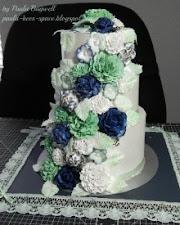 Navy Mint Cake