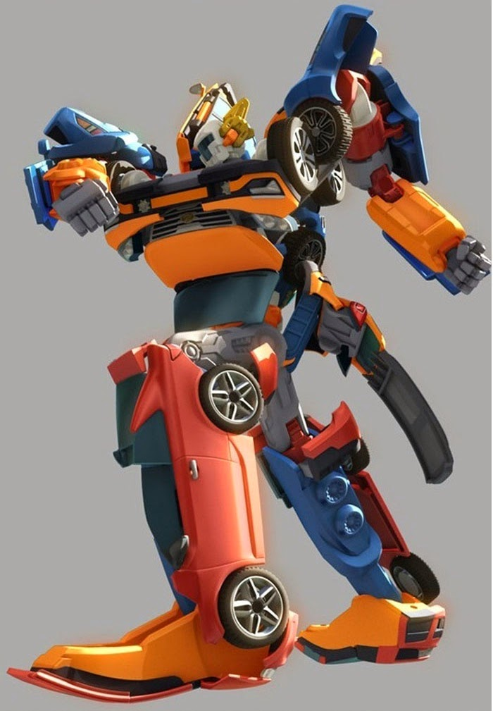 Cassey Boutique Tobot Transformer Robot Toy