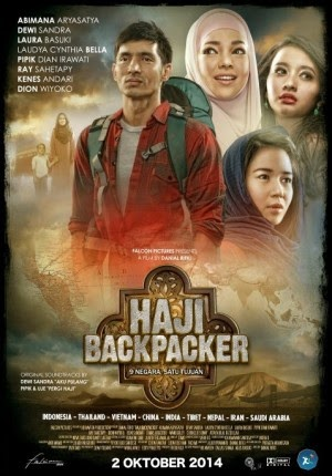 Film Haji Backpacker 2014 di Bioskop