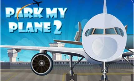 لعبة ركن الطائرات فى المطار Park My Plane 2 اون لاين