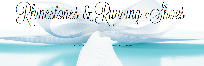 Rhinestones & Running Shoes.