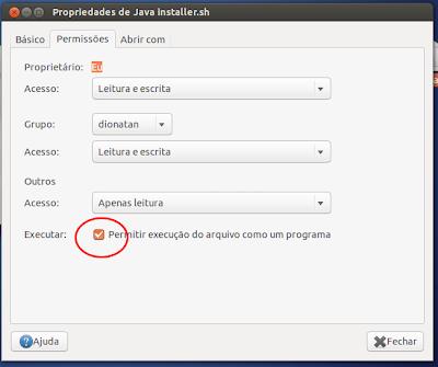 Permissão de Execução de Arquivos no Ubuntu