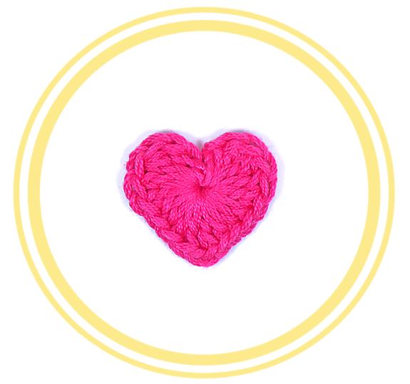 Corazón de Crochet #1 (chico) - PATRONES VALHALLA: Patrones gratis ...
