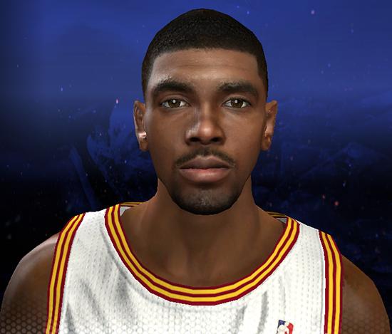 NBA 2K14 Kyrie Irving Face Mod